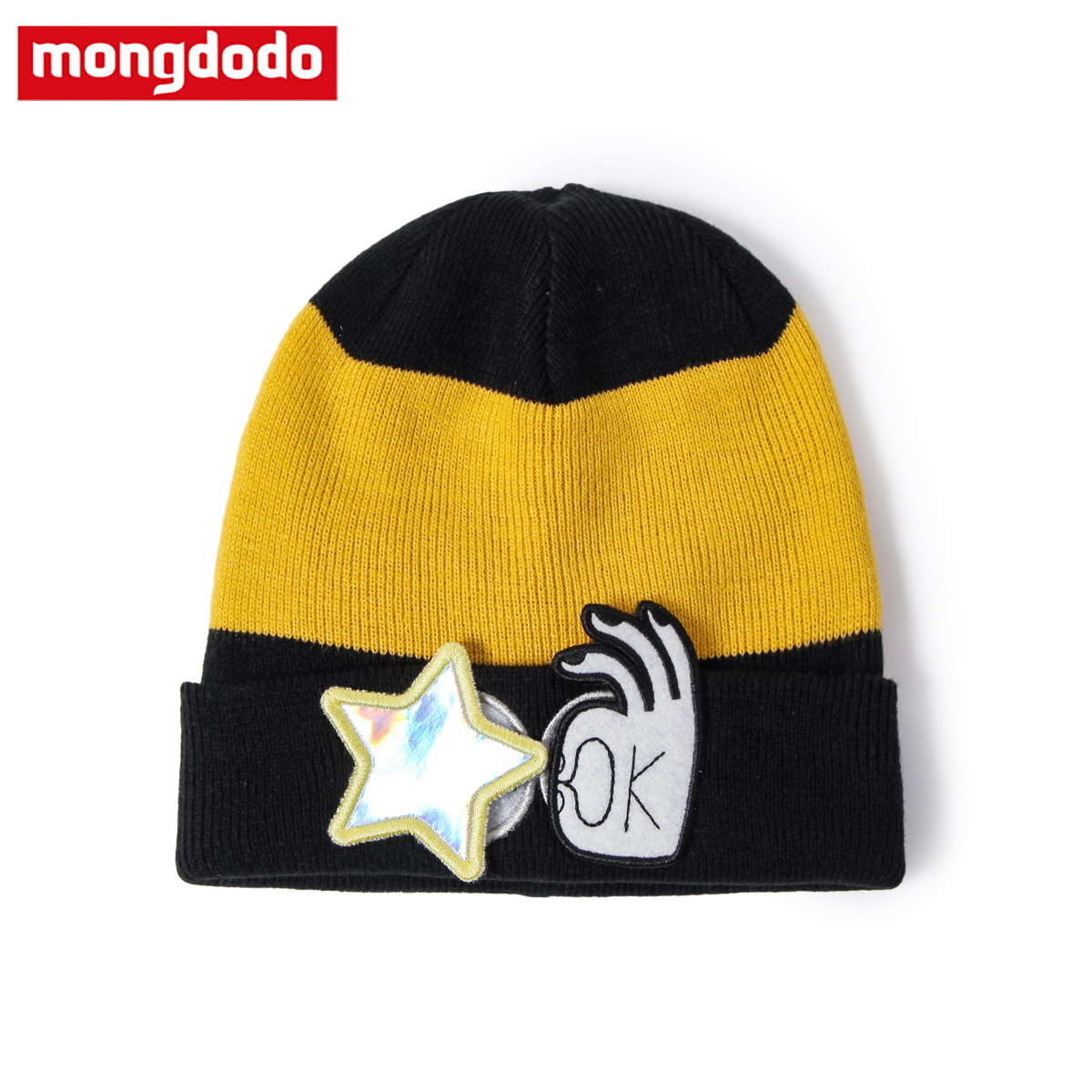 Dream a lot of children in child baby boy knitted hat fashion 2016 autumn new children's winter warm beanie hat male