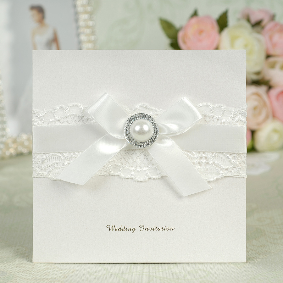 Dreamday european white lace wedding invitations wedding invitations wedding invitation section 37b