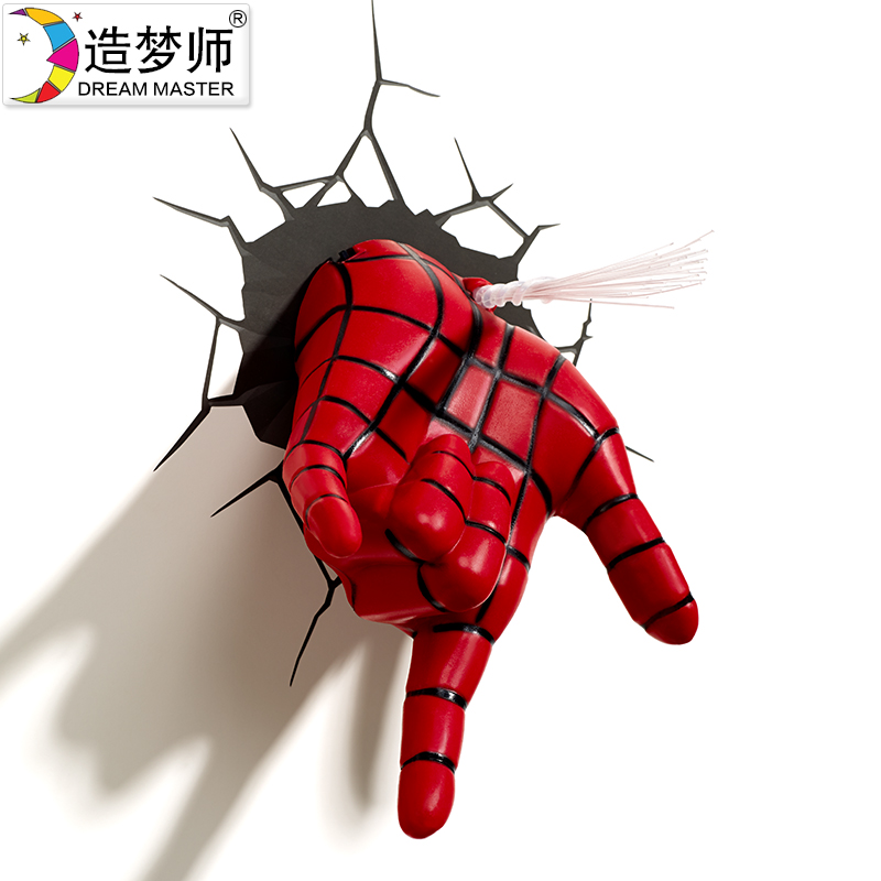 Get Quotations  C2 B7 Dreaming Division Marvel Avengers Spider Wallpaper 3d Wallpaper Wall Lamp Wall Lamp Decorative Lamp Lights