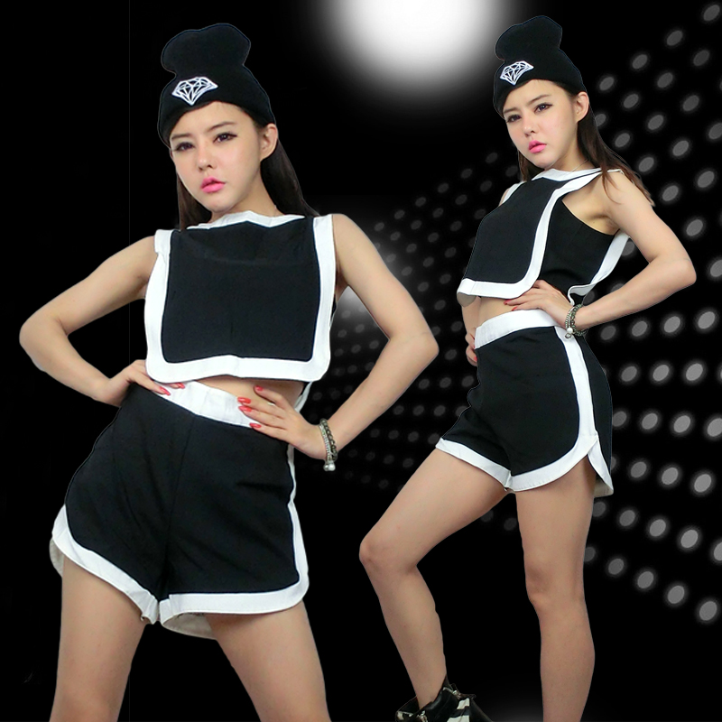 e053fd7a6 Get Quotations · Ds costumes costumes fashion lo shi nightclub singer lead dancer  clothing jazz dance clothes women casual