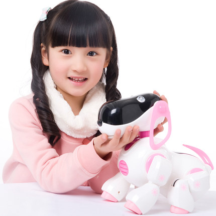 Eacan intelligent dialogue robot eacan eacan intelligent robot dog dog dog singing and dancing quiz storytelling