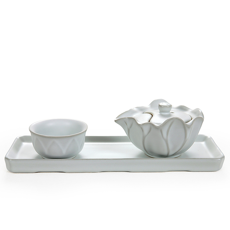 East west tea pot ru ru tea sets tea pot grasping ru quik cup tea tray tea tray with tea set group
