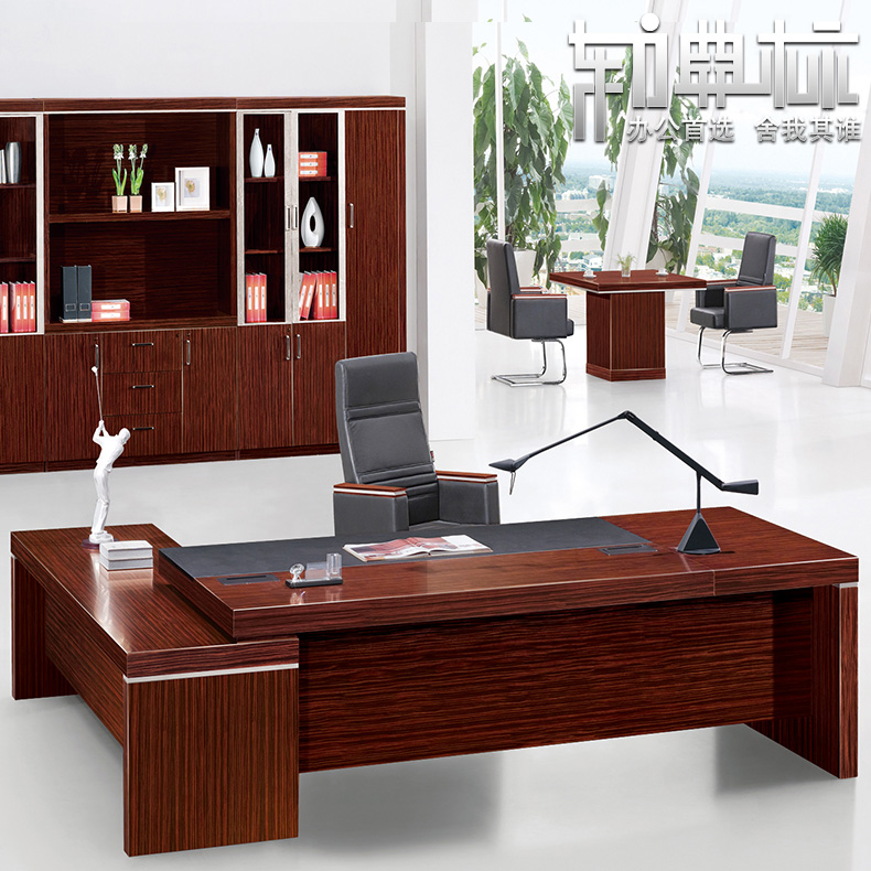 Eastern standard code brand furniture simple and stylish atmosphere of modern computer desk boss desk desk desk T08D32