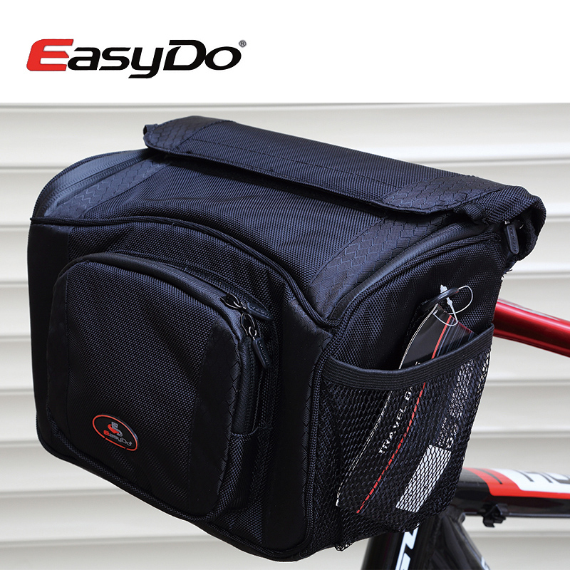 Easydo mountain bike front pack bicycle handlebar bike car first bag high quality large capacity 23l