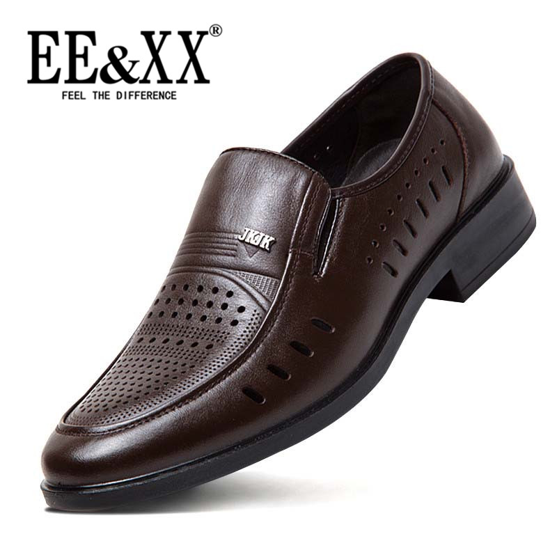 Eexx lazy shoes a pedal sets foot men's shoes 2016 new winter hollow breathable shoes to help low tide 8209