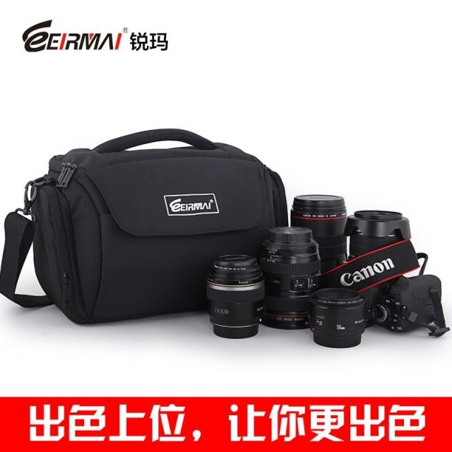 Eirmai rhema slr camera bag shoulder camera bag fashion digital camera bag slr camera bag messenger bag