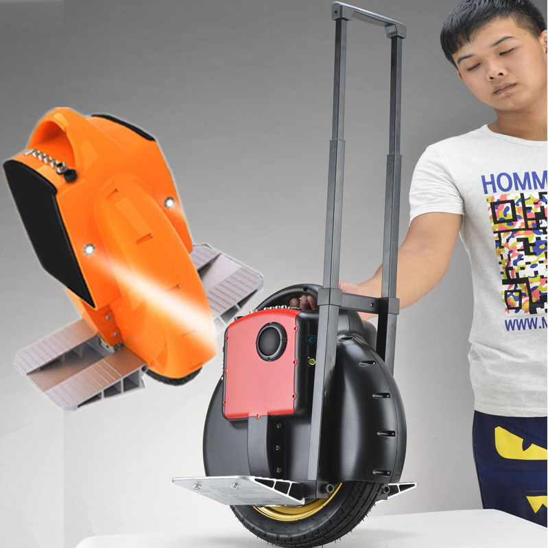 Electric wheelbarrow self balancing electric scooter special trolley