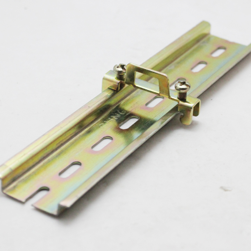 Electrical installation guide rail din 35mm slideways BNL6-2 closely fixed frame metal retaining clip snaps