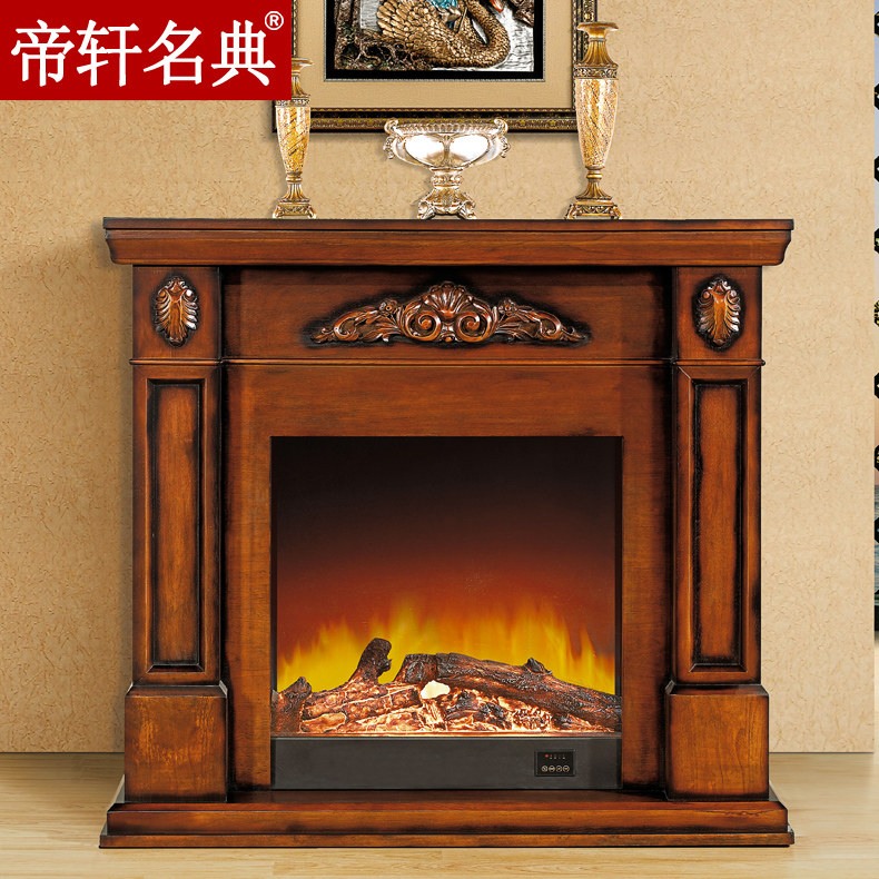 Emperor xuan code 0.8/1.2 m minimalist decorative heating fireplace fireplace european american wood fireplace mantel