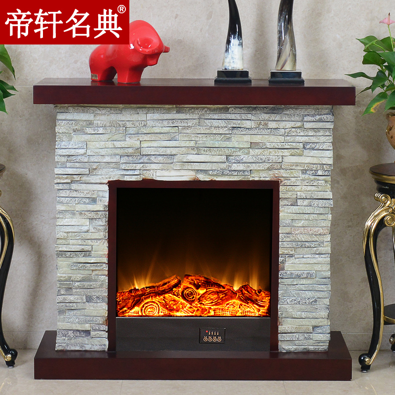 Emperor xuan code 1.2 m/1.5 m european american imitation stone fireplace mantel decoration cabinet decorative fireplace heating core