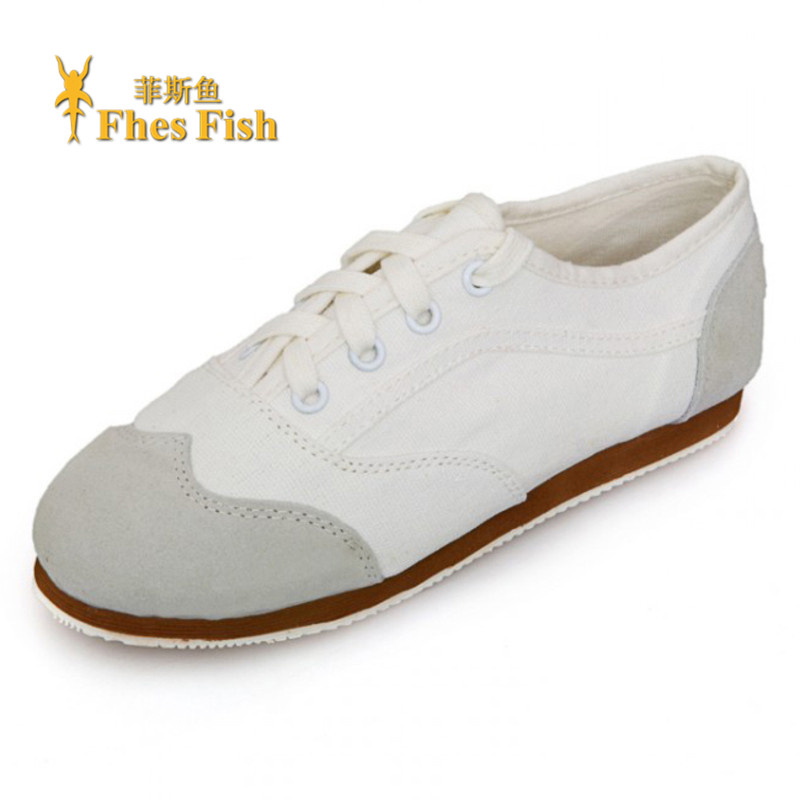 End custom brand fhesfish korean version of the new solid color flat shoes deep mouth spell color round low shoes