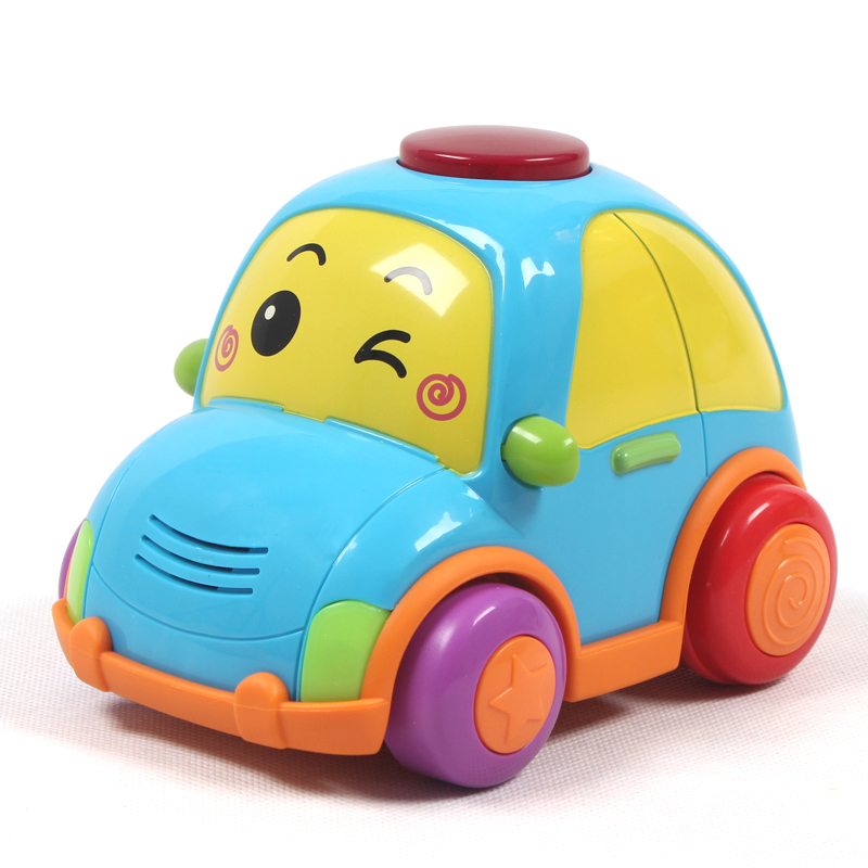 English fun infant toys for children remote control car boy toy car electric car baby music years wireless