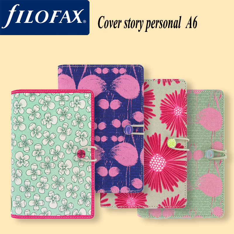 English genuine filofax cover story personal notebook creative diary hand books