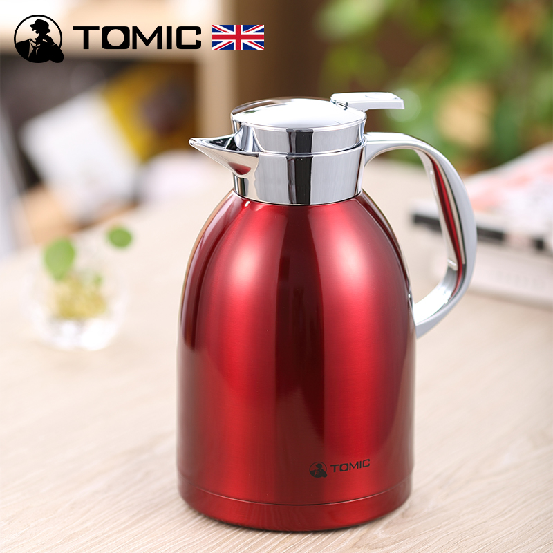 English tomic us special engraved male ms. insulation pot thermos stainless steel thermos warm kettle thermos thermos bottle home fashion