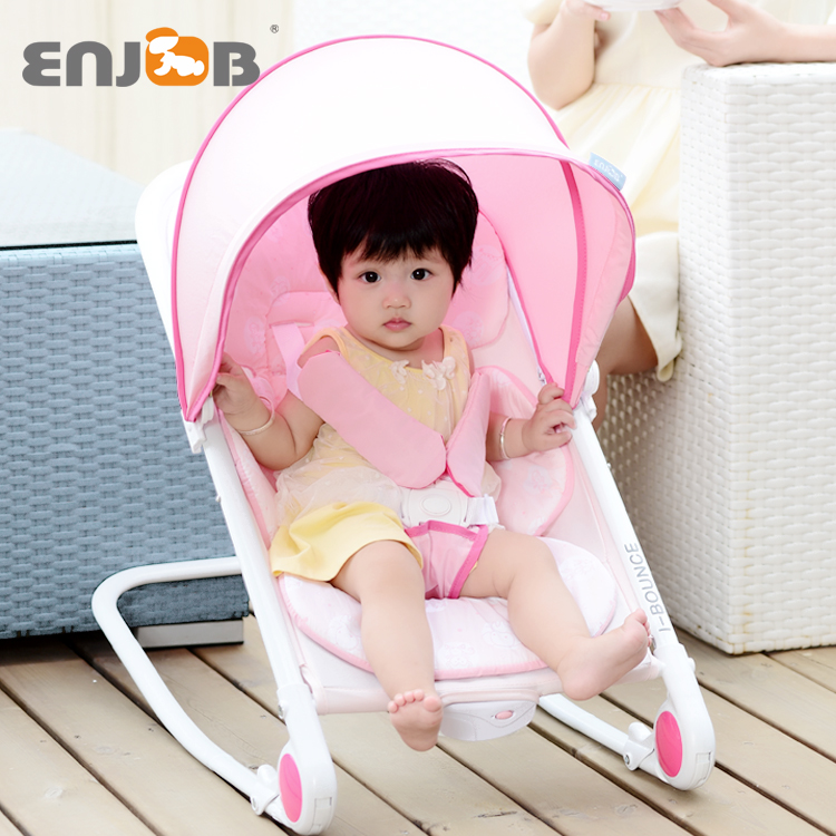Enjob newborn baby supplies baby baby rocking chair rocking chair multifunction folding chair and shook his baby appease recliner