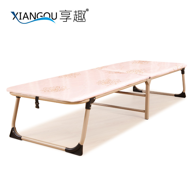 Enjoy fun hardboard reinforced wooden bed folding bed single bed office lunch nap bed mattress style bed sponge beds hugh