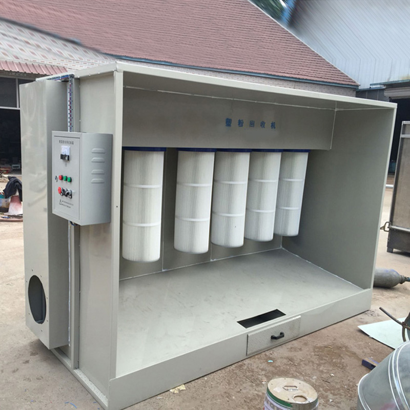 Enough power recycling machine recycling machine spray powder plastic powder electrostatic spray powder plastic powder recovery equipment
