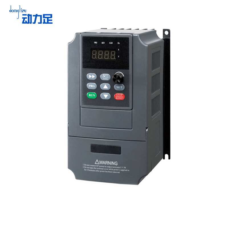 Enough power three-phase v inverter 0.4kw motor governor universal frequency energy is three-phase inverter