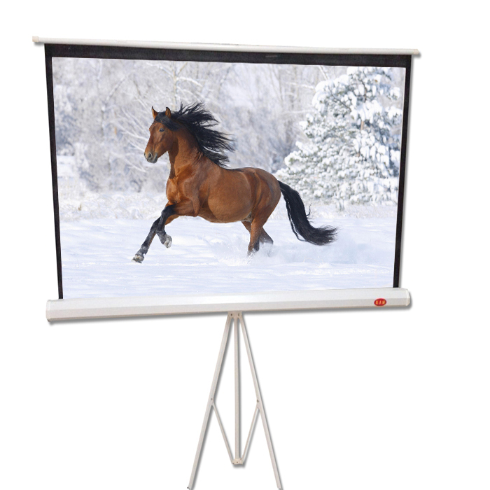 Epitomize 4:3 100-inch screen bracket 84 inch screen portable projector screen projector screen with stand