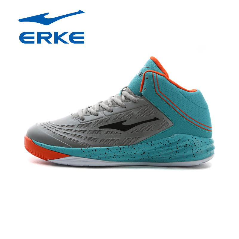 Erke erke basketball shoes men 2016 summer new high help damping basketball shoes training shoes slip resistant grinding