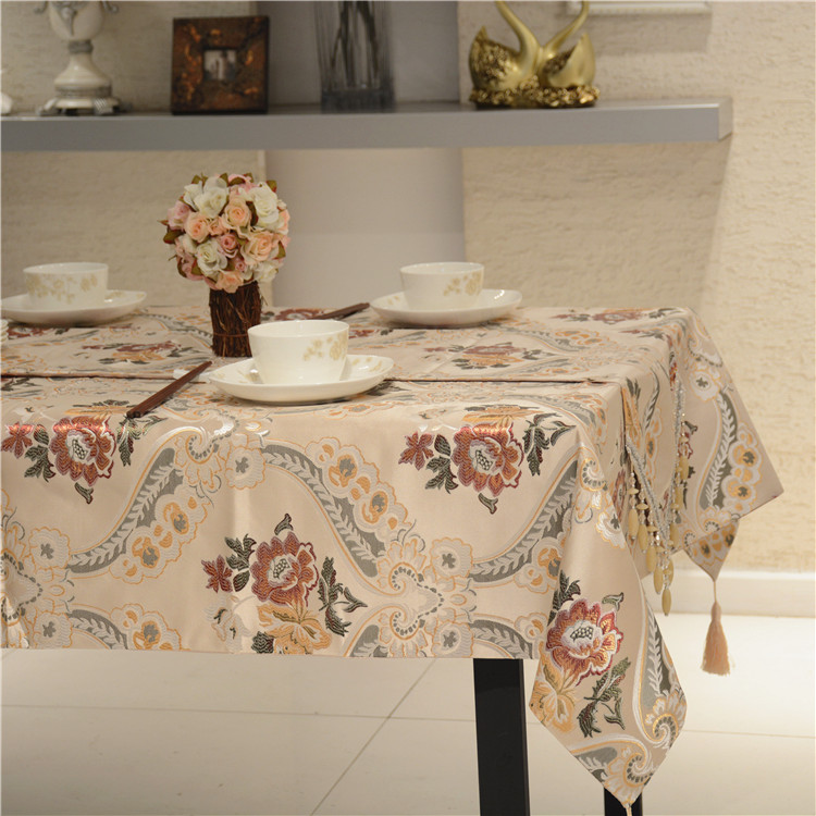 Euclidian spring tablecloth fabric table cloth tablecloth modern minimalist coffee table bugaboo