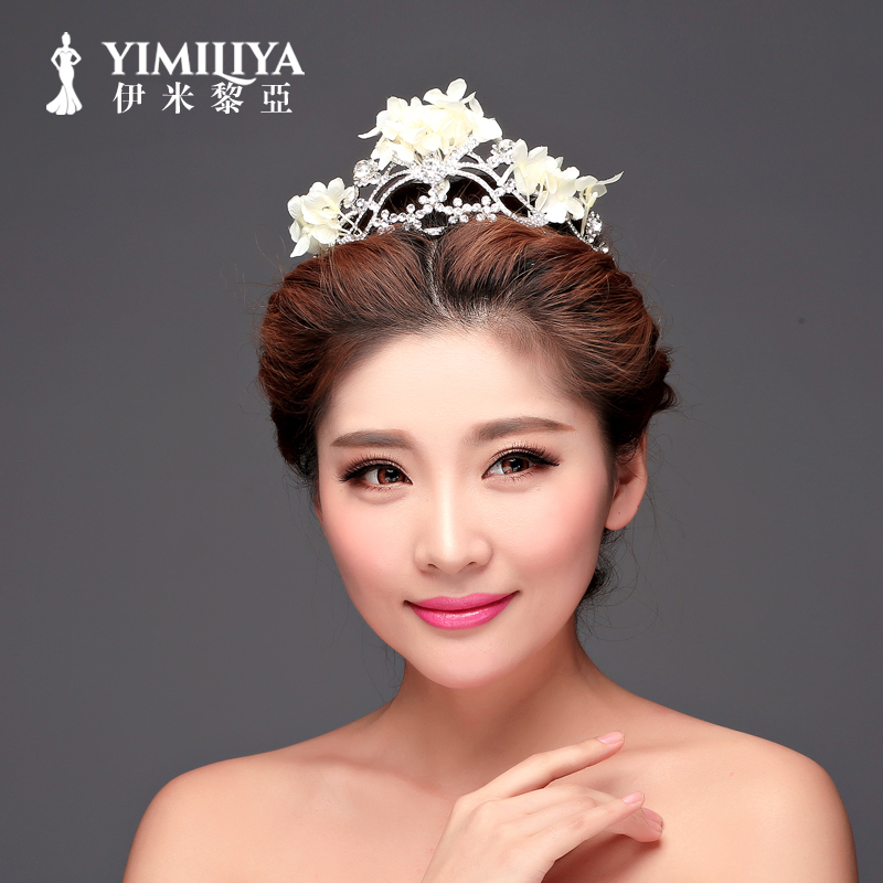Europe and the united states imi li ya sweet fashion bridal crown bridal headdress hair accessories wedding accessories wedding accessories