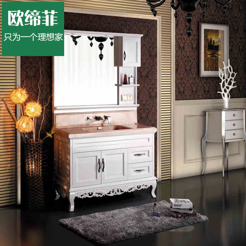 European association philippine whole bathroom cabinet double sink bathroom cabinet bathroom cabinet oak bathroom vanity cabinet wash sink combination suits 1 m