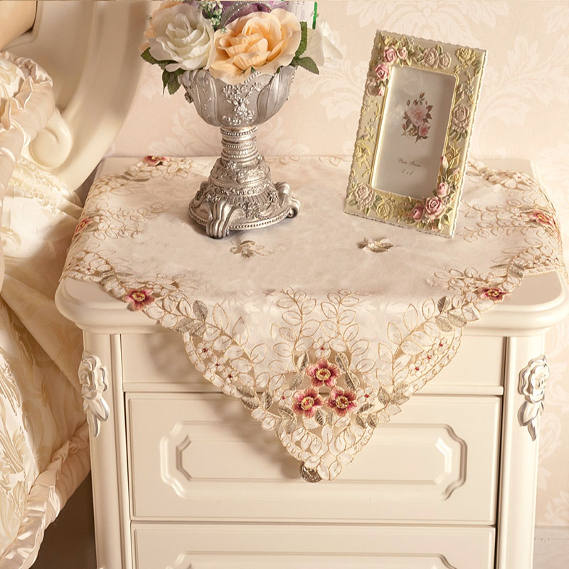 Bedside Table Covers Table Design Ideas