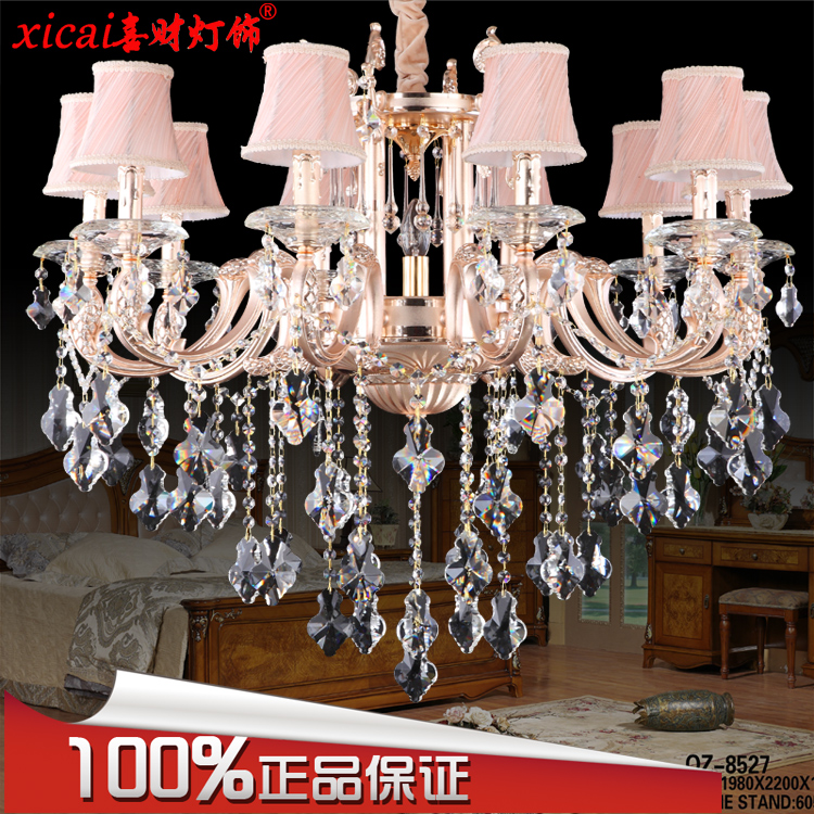 European high imperious princess wen xin restaurant candle light bedroom living room chandelier crystal chandelier crystal lamp free shipping