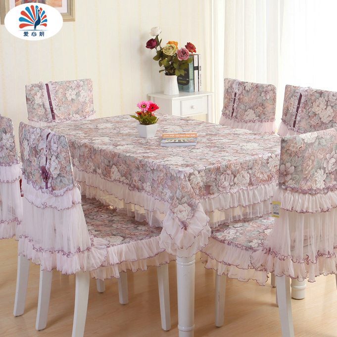 European table cloth upholstery coverings suit round coffee table cloth lace fabric chairs rectangular tablecloth tablecloths pastoral