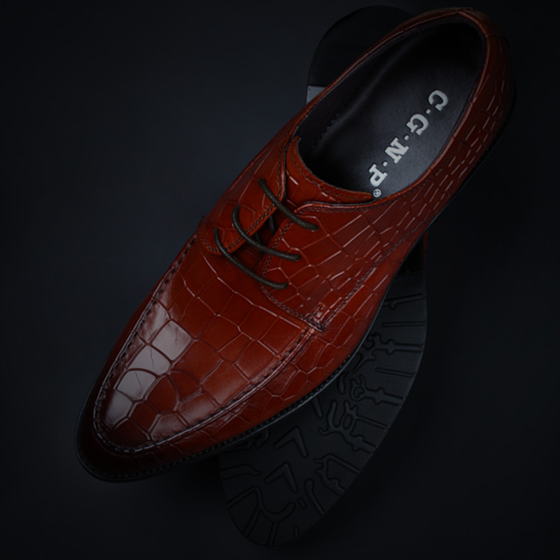European version of the men's british style pointed shoes men's business dress shoes leather shoes men shoes lace shoes men's shoes n