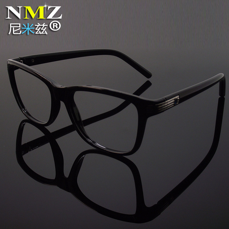 European version of the retro glasses frame female tide big face full frame myopia men finished radiation glasses female eye glasses frame full frame Framework