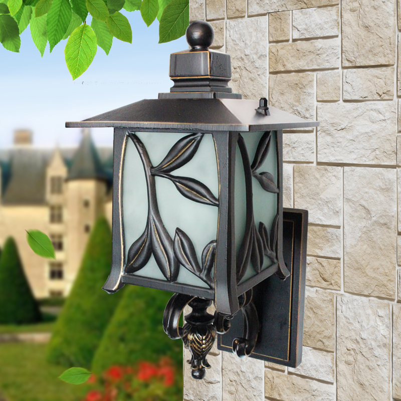 European villa balcony garden lights waterproof wall lamp wall lamp outdoor lights outdoor waterproof wall lamp wall lights wall lights lamp dew
