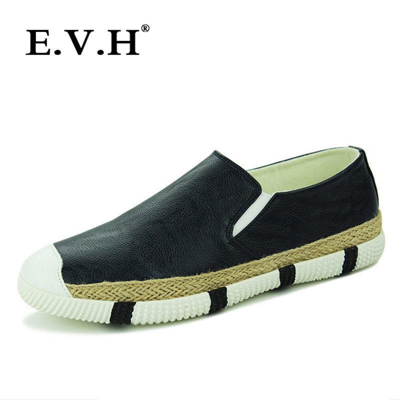 Evh fashion a pedal lazy shoes 201 new breathable peas shoes set foot casual shoes tide korean wild 9299