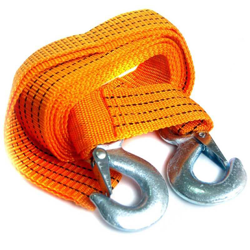 Excellent chi 4 m bright orange car emergency tow rope tow rope 3 tons strong rally visible security rescue necessary traveling by car