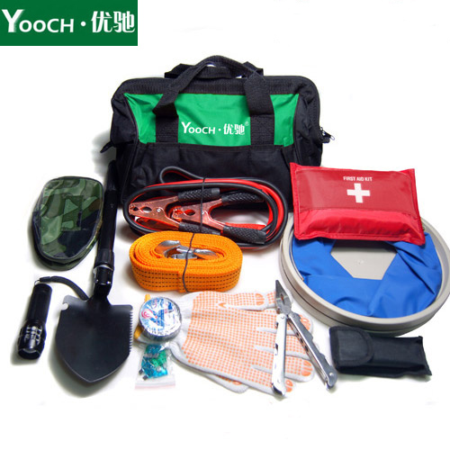 Excellent chi outdoor travel version car emergency kit car emergency kit rescue vehicle emergency health kits toolbox