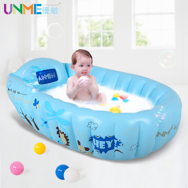 Excellent sensitive intimate partner thick inflatable baby bathtub baby bath tub bathtub baby infants and young children