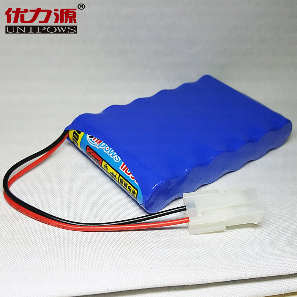 Excellent source of 2350 v battery toy car battery 5 mah single row combination with central church p plug
