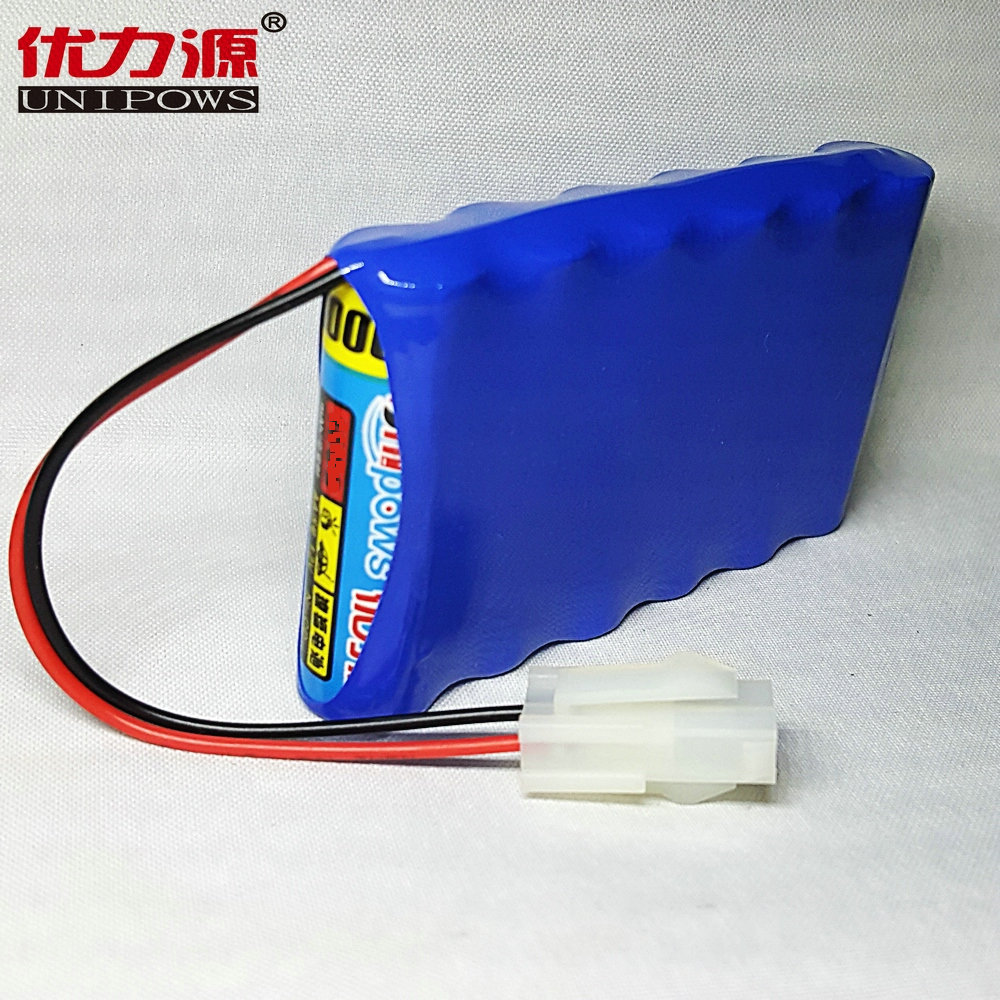 Excellent source of 3200 v battery toy car battery 5 mah single row combination with central church p plug