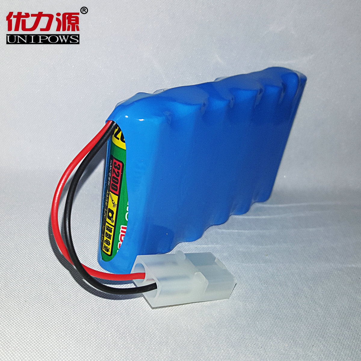 Excellent source of 3200 v battery toy car battery 5 mah single row combination with plug 2a
