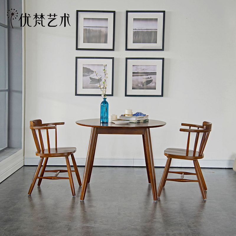 Get Quotations · Excellent Vatican Art Wegner Nordic Wood Round Dining Table  Small Round Table Round Dining Table Dinner