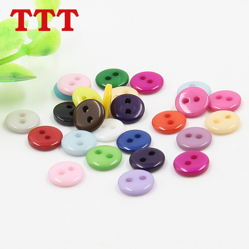 Factory outlets ttt 2 bread candy colored buttons child monopoly children buckle handmade material [9mm]