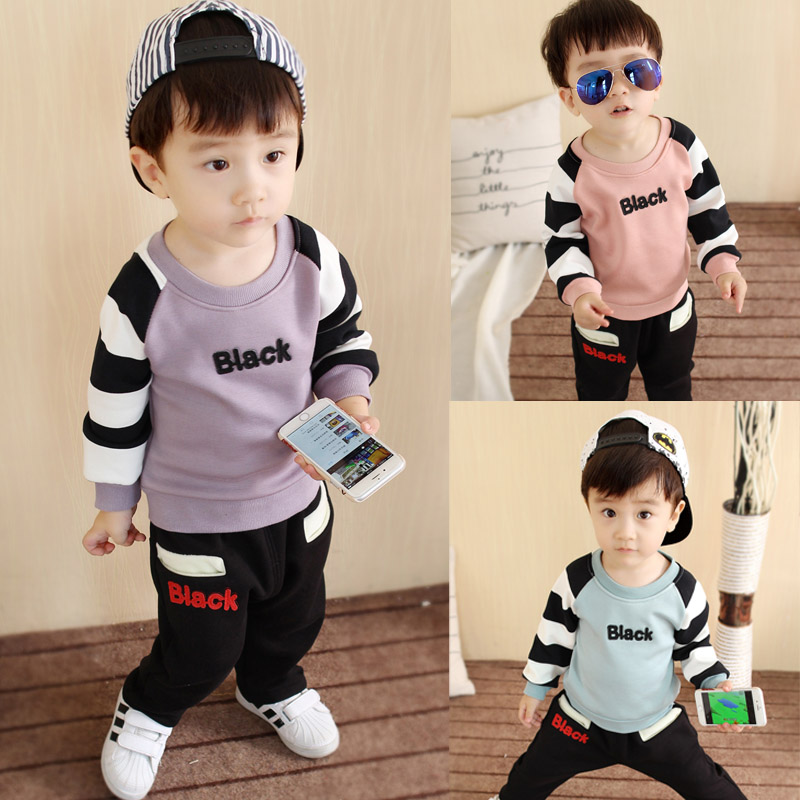 96553bc70abd Buy Fall and winter clothes baby boy 0-1-2-3-4-year-old children ...