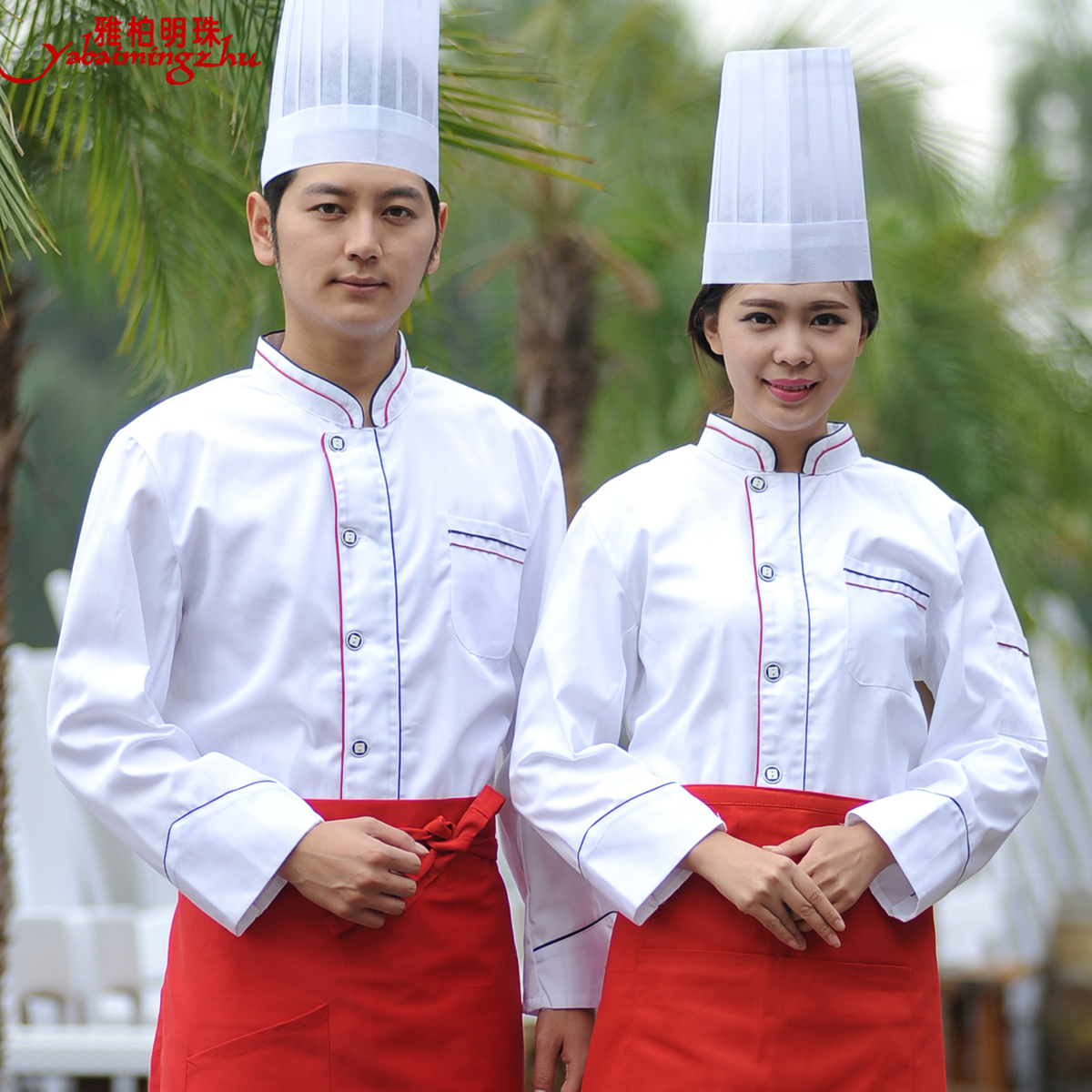 Fall and winter clothes chef clothing long sleeve chef uniforms chef service hotel catering chef clothing chef uniforms chef service hotel restaurant chef clothing