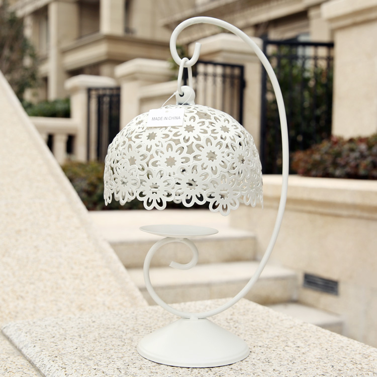 Get Quotations Fans Makeup Creative Home Decorations Iron Candlestick Candlelight Dinner Furnishings Korean Thread Empty Carved
