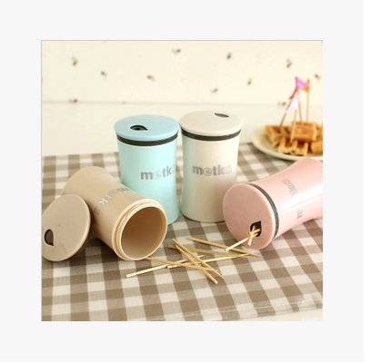 Fashion creative toothpick holder multifunctional hotel korean practical home portable home toothpick box outlets