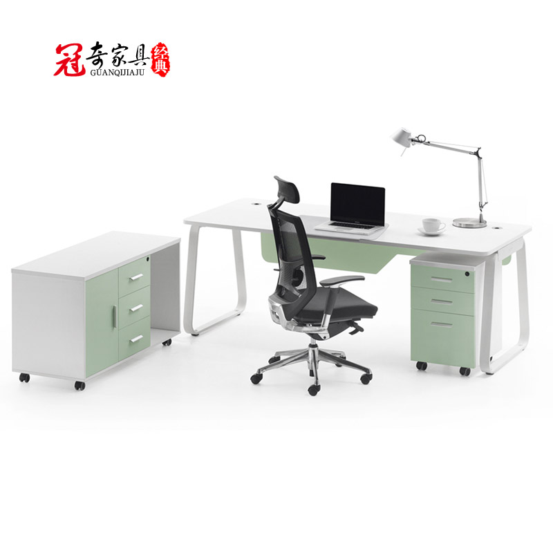 Fautsail guanqi office furniture executive desks new plate boss desk manager desk single desk office furniture