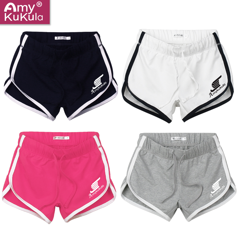 Female sports shorts beach shorts shorts female casual shorts female yoga fitness running shorts step