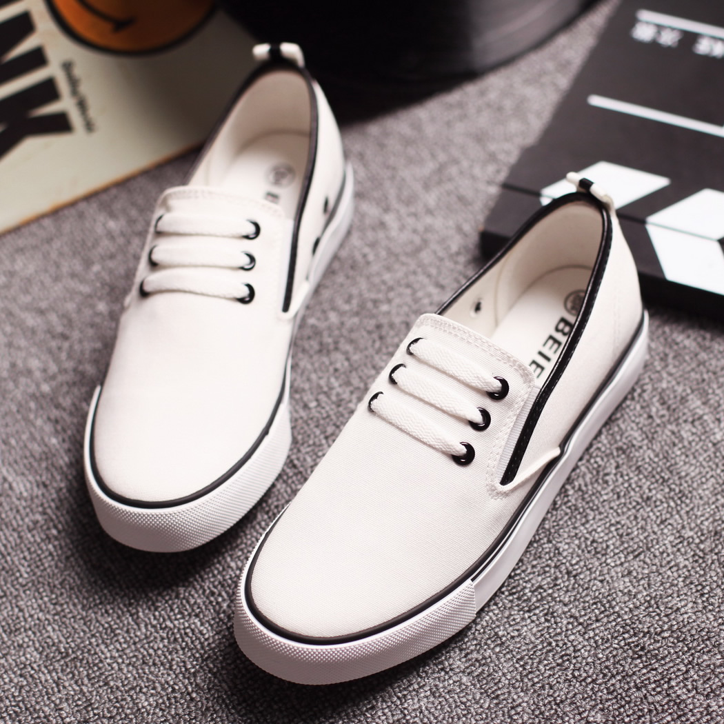 997a7a48666 Get Quotations · Female summer flat shoes white shoes loafers shoes white  canvas shoes ladies shoes casual shoes flat