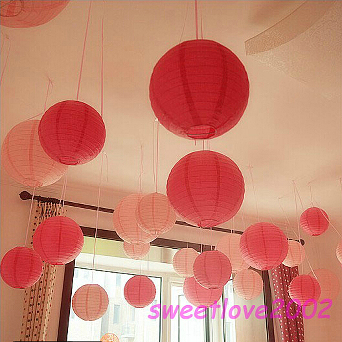 Get Quotations Festive Paper Lanterns Wedding Decoration Small Lantern Married New Year Chinese Marriage